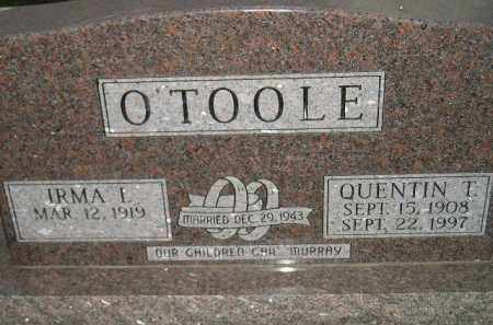 O'TOOLE, IRMA I. - Miner County, South Dakota | IRMA I. O'TOOLE - South Dakota Gravestone Photos