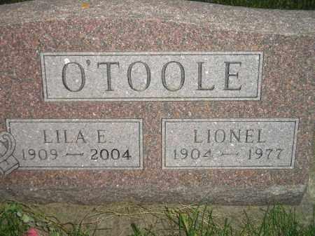 FJELLESTAD O'TOOLE, LILA E. - Miner County, South Dakota   LILA E. FJELLESTAD O'TOOLE - South Dakota Gravestone Photos