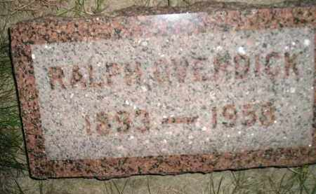 OVERDICK, RALPH - Miner County, South Dakota | RALPH OVERDICK - South Dakota Gravestone Photos