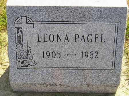 PAGEL, LEONA - Miner County, South Dakota | LEONA PAGEL - South Dakota Gravestone Photos