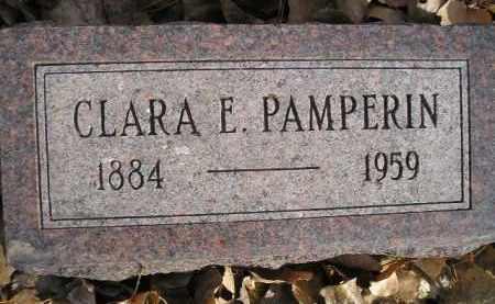 PAMPERIN, CLARA E. - Miner County, South Dakota | CLARA E. PAMPERIN - South Dakota Gravestone Photos