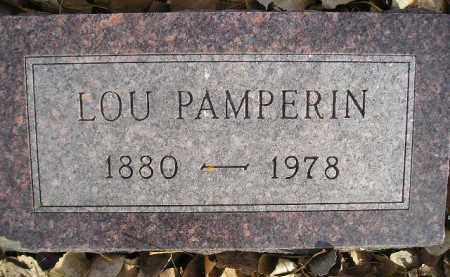 PAMPERIN, LOU - Miner County, South Dakota   LOU PAMPERIN - South Dakota Gravestone Photos