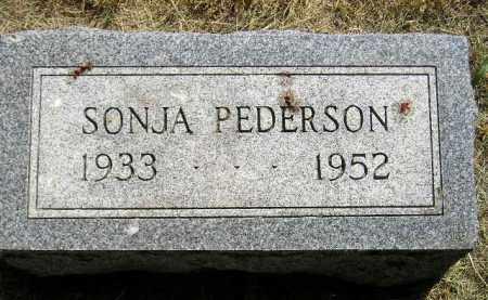 PEDERSON, SONJA - Miner County, South Dakota | SONJA PEDERSON - South Dakota Gravestone Photos