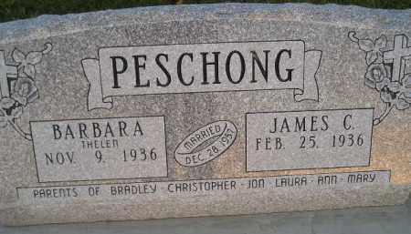 PESCHONG, JAMES C. - Miner County, South Dakota | JAMES C. PESCHONG - South Dakota Gravestone Photos
