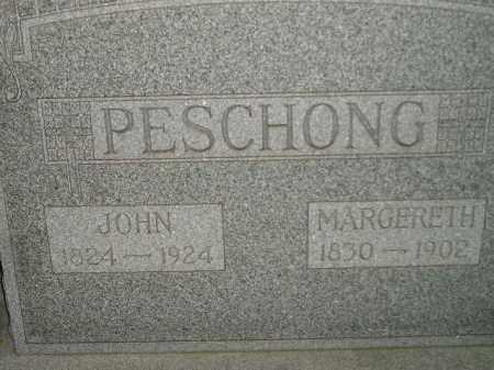 PESCHONG, MARGERETH - Miner County, South Dakota | MARGERETH PESCHONG - South Dakota Gravestone Photos