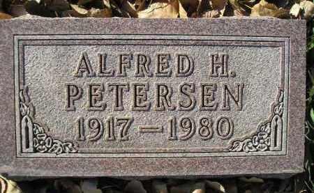 PETERSEN, ALFRED H. - Miner County, South Dakota | ALFRED H. PETERSEN - South Dakota Gravestone Photos