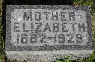 PETERSON, ELIZABETH - Miner County, South Dakota | ELIZABETH PETERSON - South Dakota Gravestone Photos