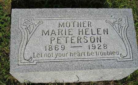 PETERSON, MARIE HELEN - Miner County, South Dakota | MARIE HELEN PETERSON - South Dakota Gravestone Photos