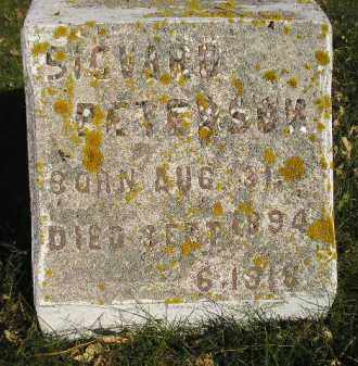 PETERSON, SIGVARD - Miner County, South Dakota | SIGVARD PETERSON - South Dakota Gravestone Photos