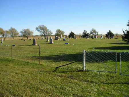 *PLEASANT HILL, WIDE VIEW - GPS - Miner County, South Dakota | WIDE VIEW - GPS *PLEASANT HILL - South Dakota Gravestone Photos