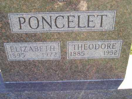 PONCELET, THEODORE - Miner County, South Dakota   THEODORE PONCELET - South Dakota Gravestone Photos