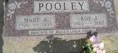 POOLEY, ROY J - Miner County, South Dakota | ROY J POOLEY - South Dakota Gravestone Photos