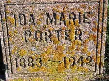 PORTER, IDA MARIE - Miner County, South Dakota | IDA MARIE PORTER - South Dakota Gravestone Photos