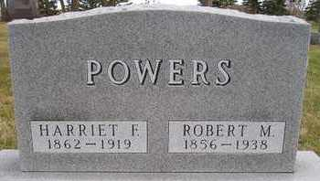 POWERS, ROBERT M - Miner County, South Dakota   ROBERT M POWERS - South Dakota Gravestone Photos
