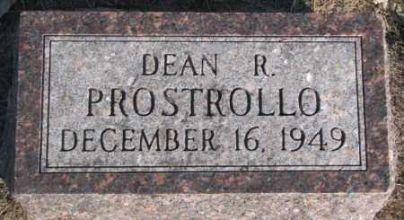 PROSTROLLO, DEAN R. - Miner County, South Dakota | DEAN R. PROSTROLLO - South Dakota Gravestone Photos