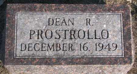 PROSTROLLO, DEAN R. - Miner County, South Dakota | DEAN R. PROSTROLLO - South Dakota Gravestone Photos