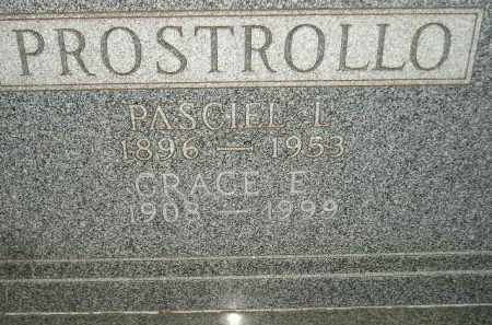 PROSTROLLO, GRACE E. - Miner County, South Dakota | GRACE E. PROSTROLLO - South Dakota Gravestone Photos