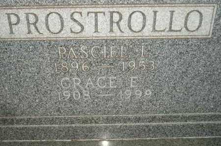 PROSTROLLO, GRACE E. - Miner County, South Dakota | GRACE E. PROSTROLLO - South Dakota Gravestone Photos