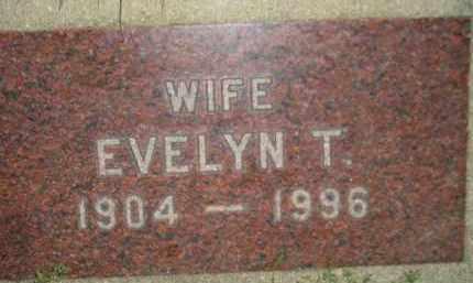 RAFFERTY, EVELYN T. - Miner County, South Dakota | EVELYN T. RAFFERTY - South Dakota Gravestone Photos