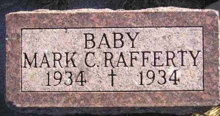 RAFFERTY, MARK C. - Miner County, South Dakota   MARK C. RAFFERTY - South Dakota Gravestone Photos