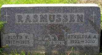 RASMUSSEN, FLOYD V - Miner County, South Dakota | FLOYD V RASMUSSEN - South Dakota Gravestone Photos