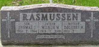 RASMUSSEN, THOMAS J - Miner County, South Dakota | THOMAS J RASMUSSEN - South Dakota Gravestone Photos