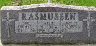 RASMUSSEN, DOLORES M - Miner County, South Dakota | DOLORES M RASMUSSEN - South Dakota Gravestone Photos