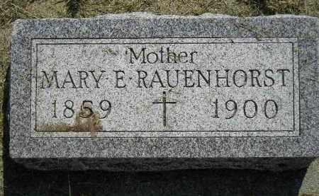 RAUENHORST, MARY E. - Miner County, South Dakota | MARY E. RAUENHORST - South Dakota Gravestone Photos