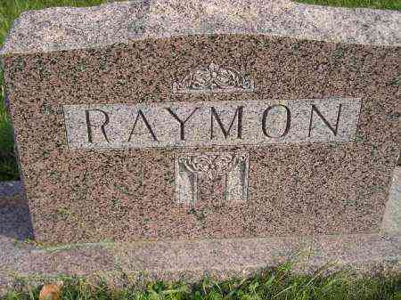 RAYMON, FAMILY STONE - Miner County, South Dakota | FAMILY STONE RAYMON - South Dakota Gravestone Photos
