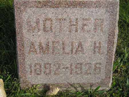 RAYMON, AMELIA H. - Miner County, South Dakota | AMELIA H. RAYMON - South Dakota Gravestone Photos
