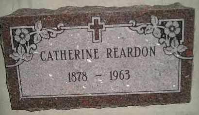REARDON, CATHERINE - Miner County, South Dakota | CATHERINE REARDON - South Dakota Gravestone Photos