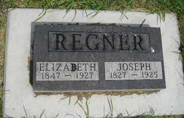 REGNER, JOSEPH - Miner County, South Dakota   JOSEPH REGNER - South Dakota Gravestone Photos