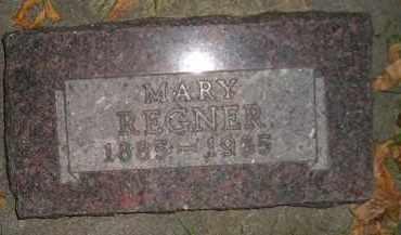 REGNER, MARY - Miner County, South Dakota | MARY REGNER - South Dakota Gravestone Photos