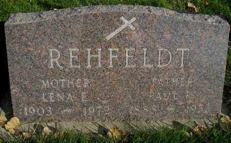 REHFELDT, PAUL R. - Miner County, South Dakota | PAUL R. REHFELDT - South Dakota Gravestone Photos