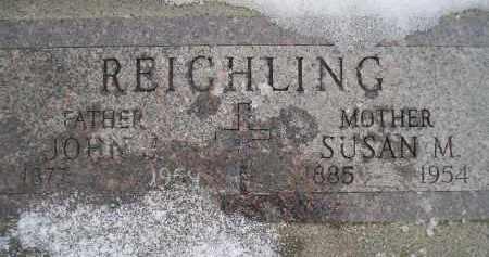 DIEDRICH REICHLING, SUSAN M. - Miner County, South Dakota | SUSAN M. DIEDRICH REICHLING - South Dakota Gravestone Photos