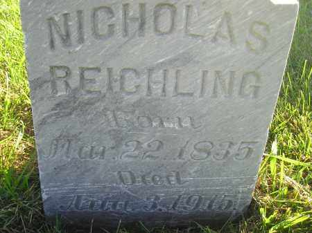 REICHLING, NICHOLAS - Miner County, South Dakota | NICHOLAS REICHLING - South Dakota Gravestone Photos