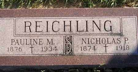 REICHLING, PAULINE M. - Miner County, South Dakota | PAULINE M. REICHLING - South Dakota Gravestone Photos