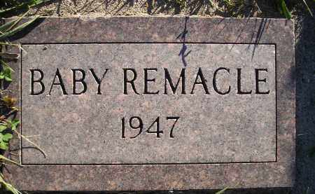 REMACLE, BABY - Miner County, South Dakota   BABY REMACLE - South Dakota Gravestone Photos