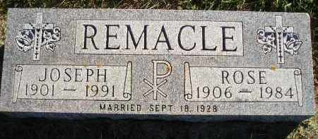 REMACLE, JOSEPH - Miner County, South Dakota | JOSEPH REMACLE - South Dakota Gravestone Photos
