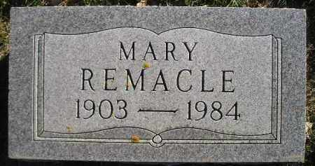 REMACLE, MARY - Miner County, South Dakota | MARY REMACLE - South Dakota Gravestone Photos