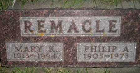 REMACLE, PHILIP A. - Miner County, South Dakota | PHILIP A. REMACLE - South Dakota Gravestone Photos