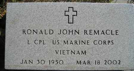 REMACLE, RONALD JOHN - Miner County, South Dakota | RONALD JOHN REMACLE - South Dakota Gravestone Photos