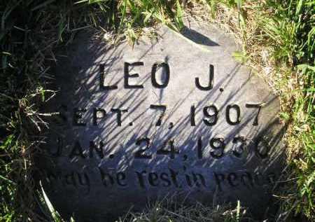 RIEFF, LEO J. - Miner County, South Dakota   LEO J. RIEFF - South Dakota Gravestone Photos