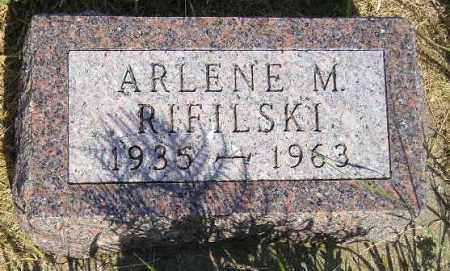 RIFILSKI, ARLENE M. - Miner County, South Dakota | ARLENE M. RIFILSKI - South Dakota Gravestone Photos