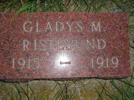 RISTESUND, GLADYS M. - Miner County, South Dakota | GLADYS M. RISTESUND - South Dakota Gravestone Photos