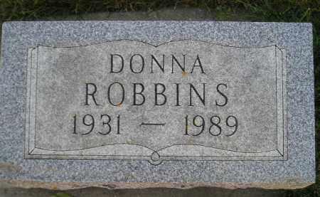 ROBBINS, DONNA - Miner County, South Dakota   DONNA ROBBINS - South Dakota Gravestone Photos