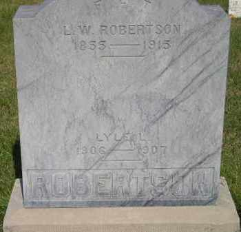 ROBERTSON, LYLE L. - Miner County, South Dakota | LYLE L. ROBERTSON - South Dakota Gravestone Photos