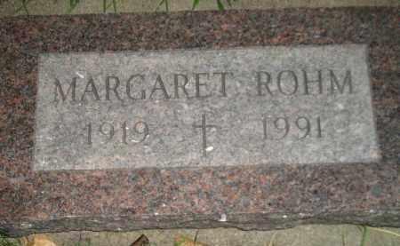 ROHM, MARGARET MCDONALD - Miner County, South Dakota | MARGARET MCDONALD ROHM - South Dakota Gravestone Photos