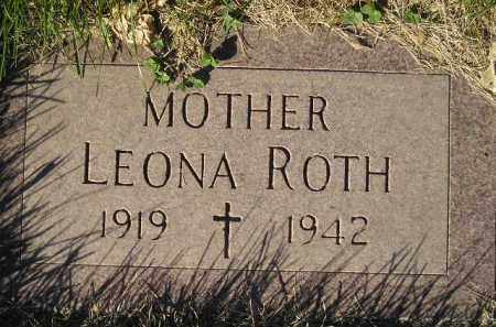 ROTH, LEONA - Miner County, South Dakota | LEONA ROTH - South Dakota Gravestone Photos