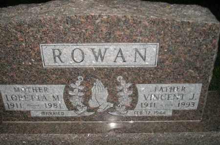 ROWAN, LORETTA M. - Miner County, South Dakota | LORETTA M. ROWAN - South Dakota Gravestone Photos